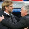 Everton Vs Liverpool, Bagaimana Rekor Pertemuan Klopp dan Ancelotti?