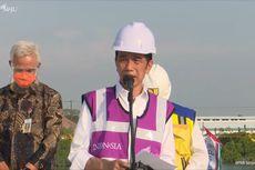 Tinjau Tol Semarang-Demak, Jokowi: Multifungsi, Kurangi Macet dan Banjir Rob