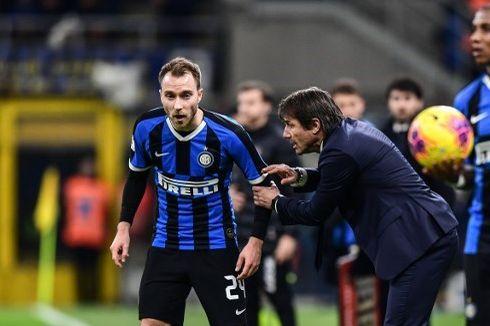 Minim Gelandang, Eriksen Terpaksa Debut Lebih Awal bersama Inter