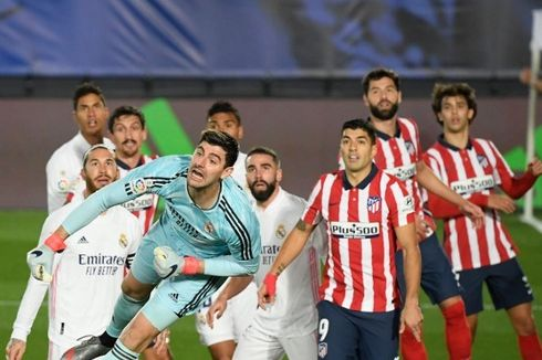 Susunan Pemain Atletico Madrid Vs Real Madrid, Duel Luis Suarez Vs Karim Benzema