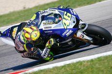Rossi Tercepat pada Sesi Latihan Bebas Tiga yang Lembab