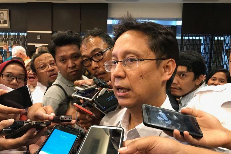Direktur Utama PT Indonesia Asahan Alumunium (Persero) Budi Gunadi Sadikin