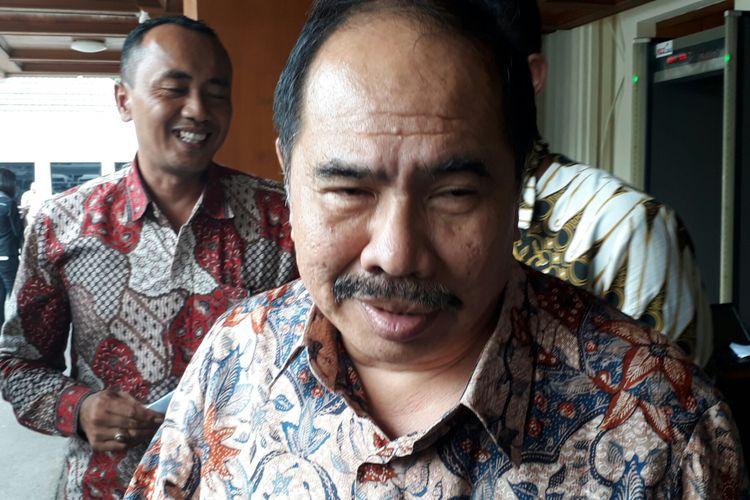 Kepala Pusat Pelaporan dan Analisis Transaksi Keuangan (PPATK) Kiagus Ahmad Badaruddin, di Kemenkopolhukam, Selasa (29/8/2017)