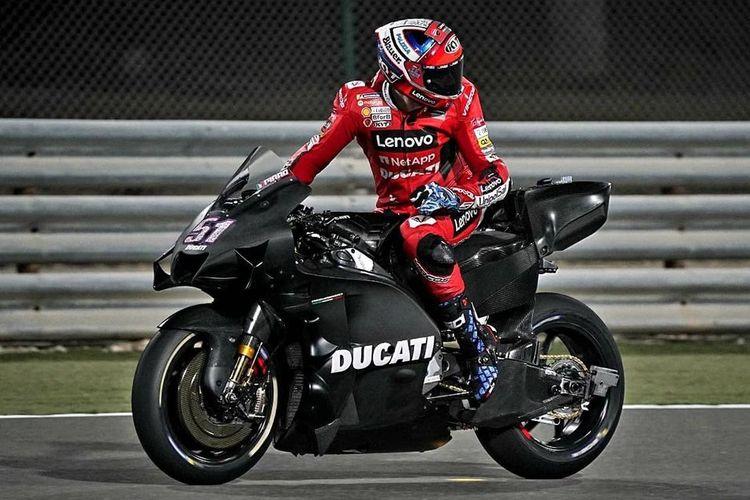 Perangkat aerodinamika baru pada fairing Ducati Desmosedici GP21