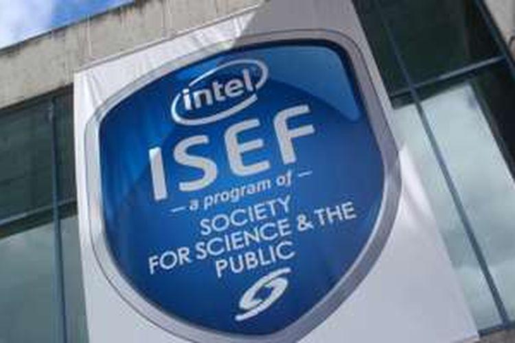 Logo kompetisi sains Intel ISEF.