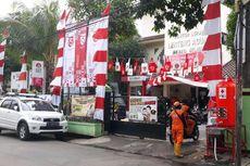 Sambut HUT Kemerdekaan RI, Kelurahan Lenteng Agung Gantung 75 Kantong Ramah Lingkungan