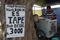 Es Tape Legendaris di Kulon Progo, Buka di Daerah Rawan Begal