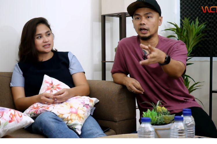 Wendi Cagur dan istri saat berbincang dalam acara Parenten bersama Iwa K dan Wikan di kanal YouTubenya, Wendi Cagur Televisi.