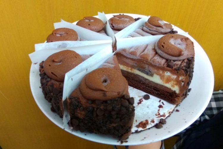 Kue oreo dream extreme dari The Chesse Cake Factory.
