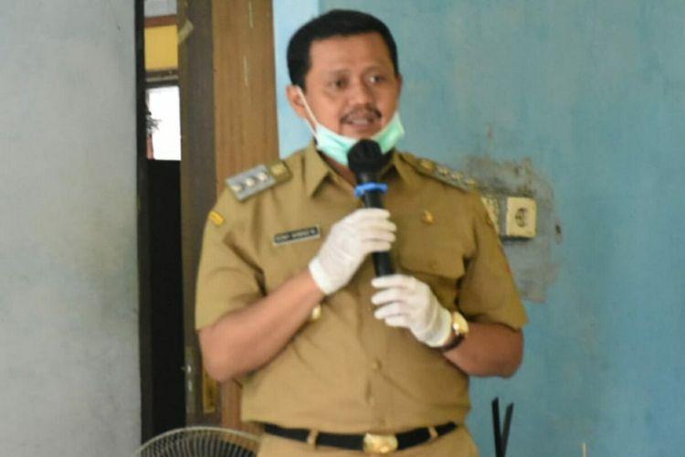 Bupati Sumedang H Dony Ahmad Munir. AAM AMINULLAH/KOMPAS.com