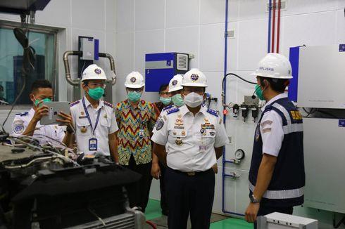 Laboratorium Uji Emisi Heavy Duty Berstandar Euro IV Diresmikan