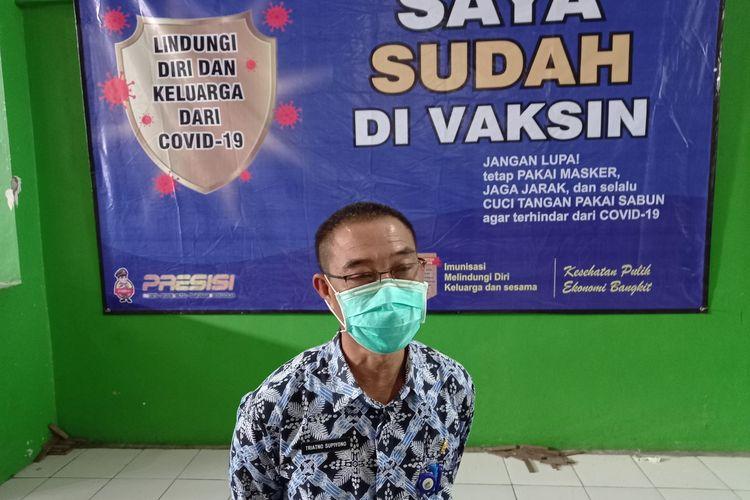 Kepala Dinas Kesehatan Kabupaten Lebak Triatno Supiono