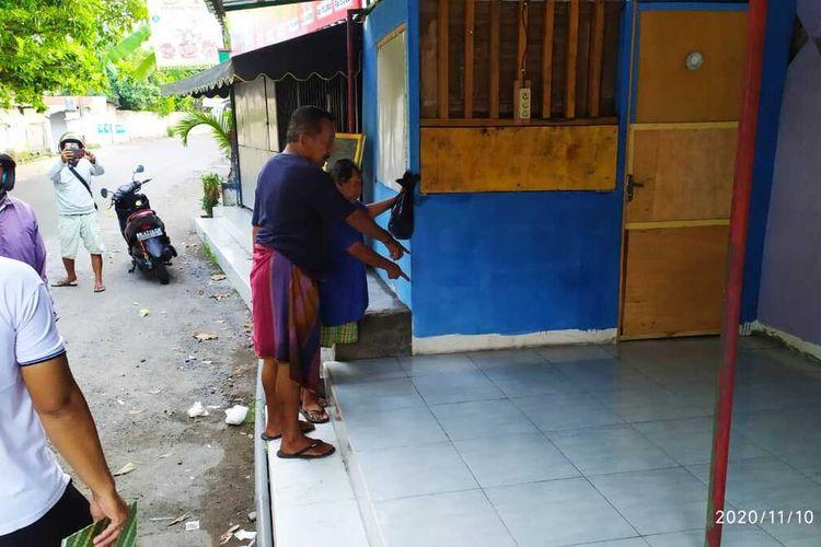 lokasi penemuan mayat bayi perempuan di Karang Sukun