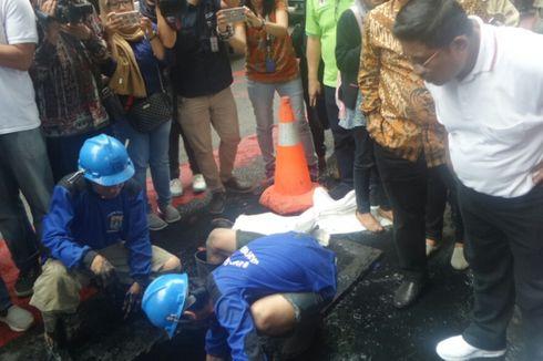 Sumarsono: 90 Persen Saluran Air di Jakarta Dipasangi Kabel dengan Semrawut