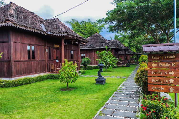 Homestay di Balai Ekonomi Desa (Balkondes) Karangrejo, Borobudur.