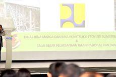 Februari 2020, Groundbreaking Tol Dalam Kota Medan