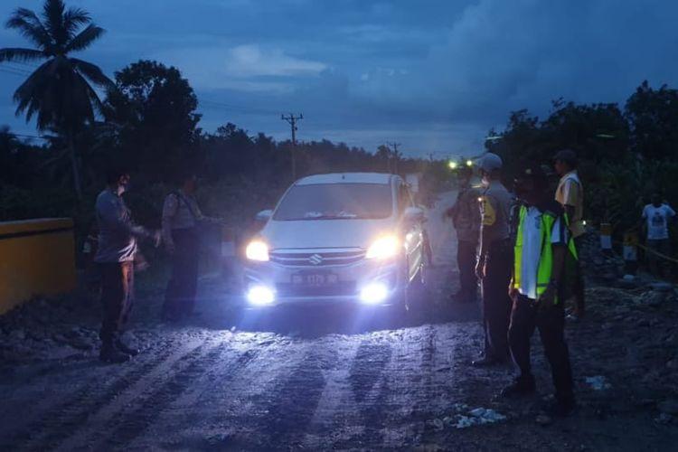 Jaga Jalur Logistik Poso - Parigi, Kementerian PUPR Tangani Perbaikan Jembatan Samalera Yang Tergerus Banjir