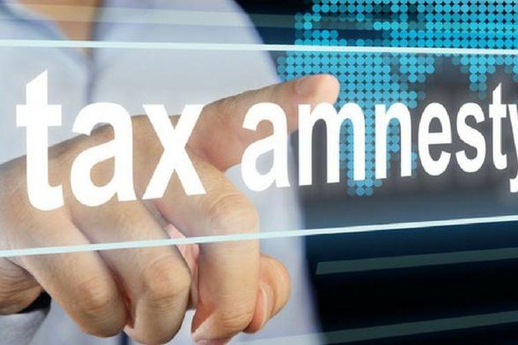 Ilustrasi tax amnesty.