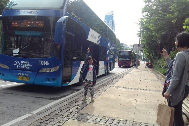 Bus Wisata Tingkat Jakarta Tour