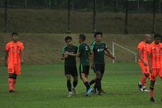 Dihadiri Simon McMenemy, Timnas Indonesia Menang atas Klub Malaysia
