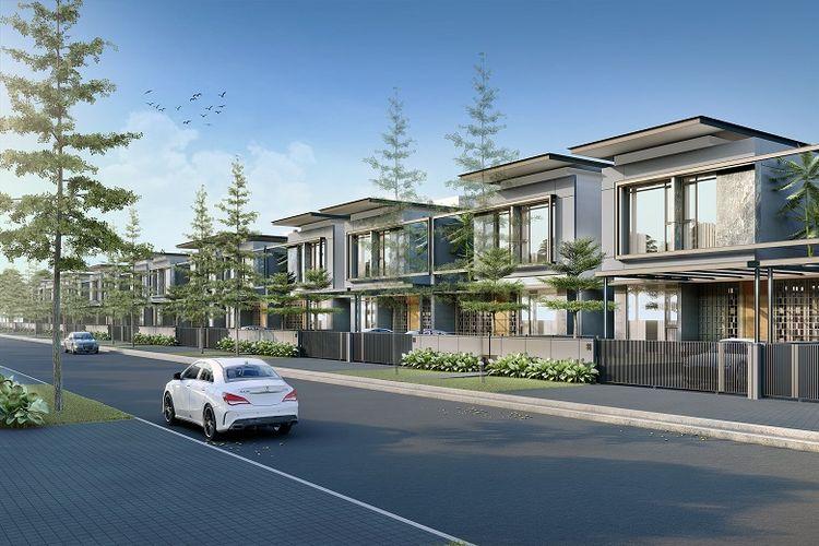 Nayapati Residence 'breathable frontage-house' hunian dua lantai berarsitektur modern tropis yang didesain secara inklusif bagi setiap anggota keluarga atau rumah.