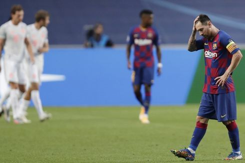 Hasil Barcelona Vs Bayern Muenchen, Lionel Messi dkk Kalah Mengenaskan