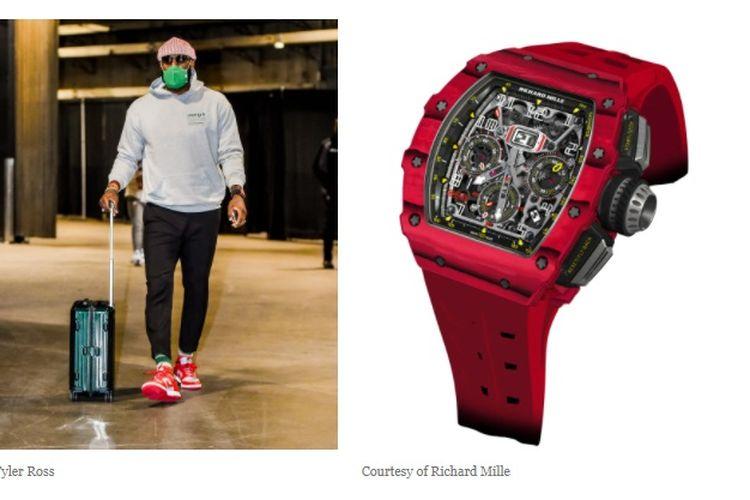 LeBron James dengan Richard Mille RM 11-03