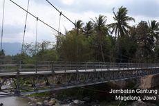 Tahun Ini, Kementerian PUPR Bangun 148 Jembatan Gantung