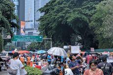 Penataan PKL Saat Car Free Day, Disambut Warga, Diprotes Pedagang