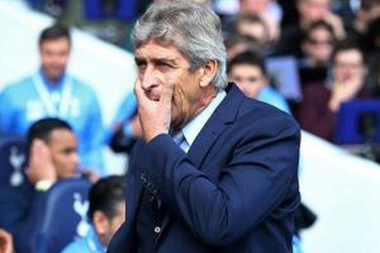 Manajer Manchester City asal Cile, Manuel Pellegrini.