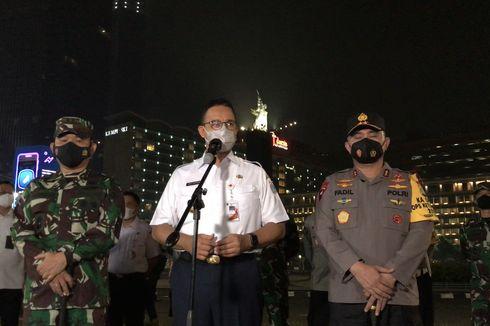 Gubernur Anies, Kapolda Fadil, dan Pangdam Jaya Dudung Rapat Bahas Arus Balik Lebaran
