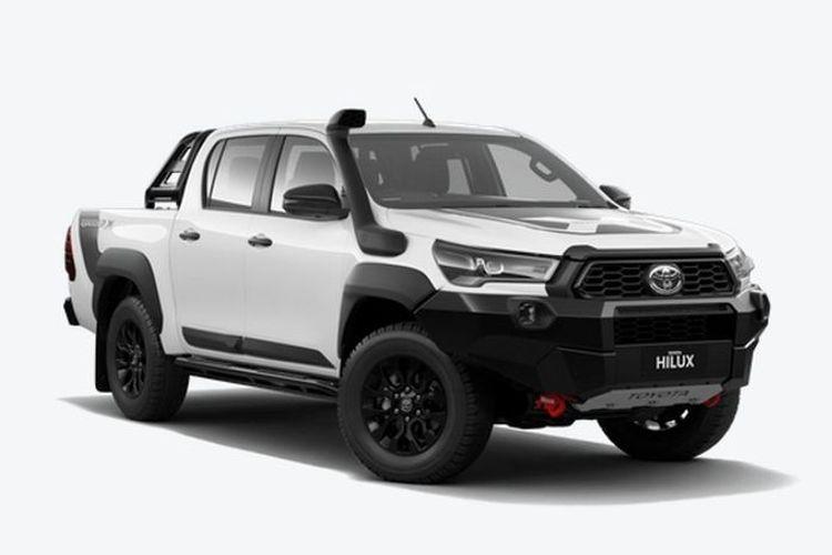 Toyota Hilux Rugged X versi modifikasi ala pabrikan di Australia