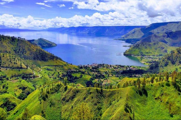Kaldera Toba ditetapkan jadi Unesco Global Geopark