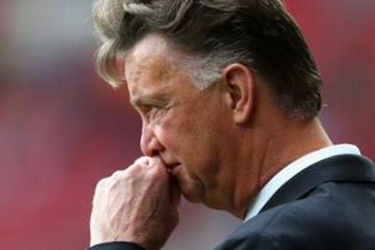 Manajer Manchester United, Louis van Gaal.