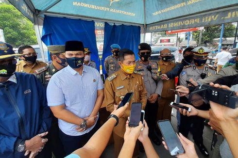 Cek Pelaksanaan PSBB, Wali Kota Serang Sebut Warga Sudah Disiplin