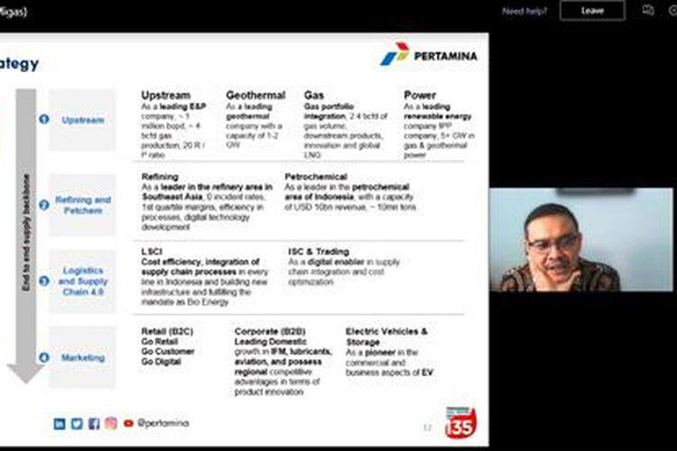 Leader?s Talk PGN dengan tema ?Transformasi Holding Migas? yang digelar PGN.