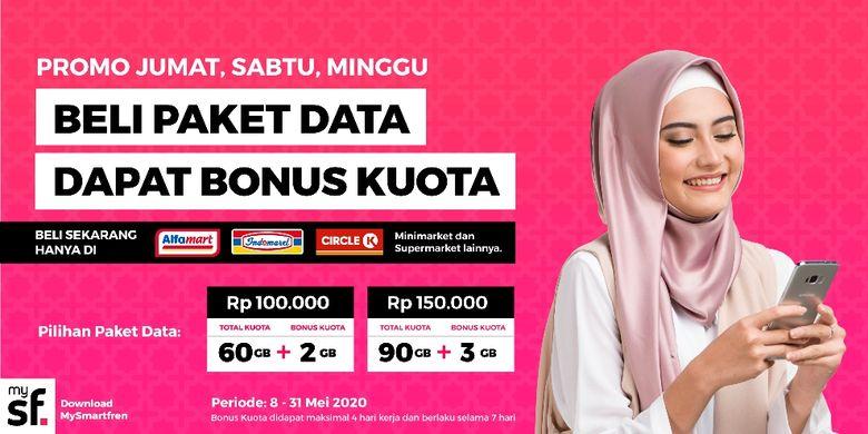 Promo paket data Smartfren Ramadhan.