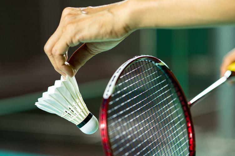 Ilustrasi badminton
