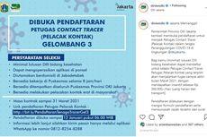 Pemprov DKI Buka Pendaftaran Petugas Contact Tracer, Insentif Rp 360.000 Per Hari