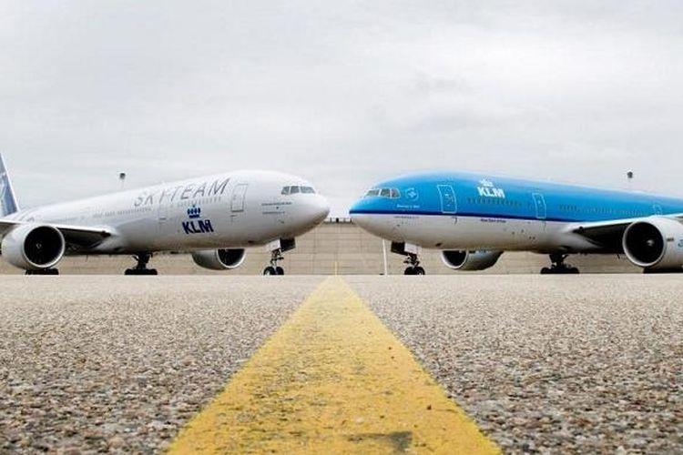 KLM, salah satu maskapai internasional tertua di dunia.