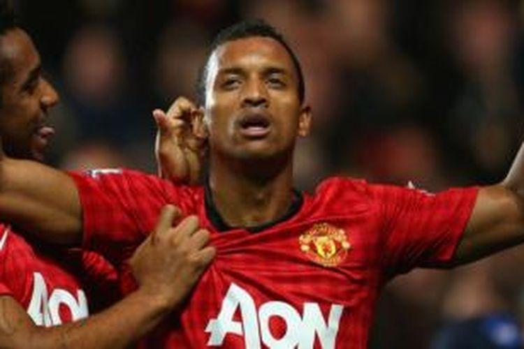 Gelandang Manchester United, Nani.