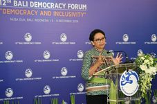 Democracy Gives Hope to Recover from Covid-19 Crisis, Says Indonesia's Top Diplomat