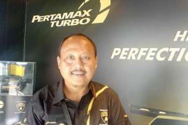 Vice President Retail Fuel Marketing Pertamina, Affandi.