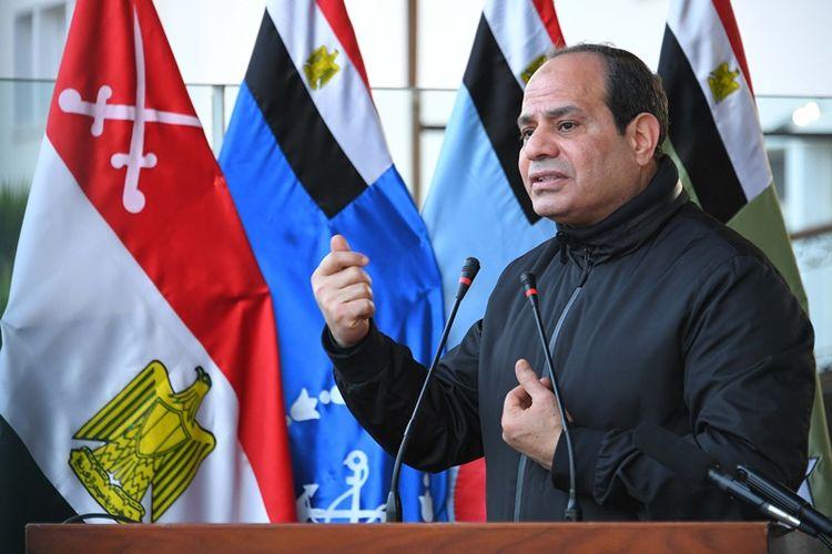 Presiden Mesir Abdel Fattah al-Sisi.