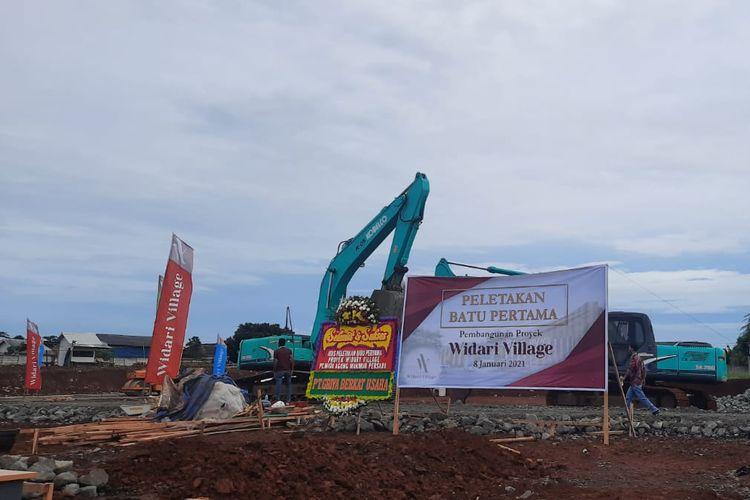 PT Wida Agung Group bangun 1.000 unit hunian di Legok Kabupaten Tangerang