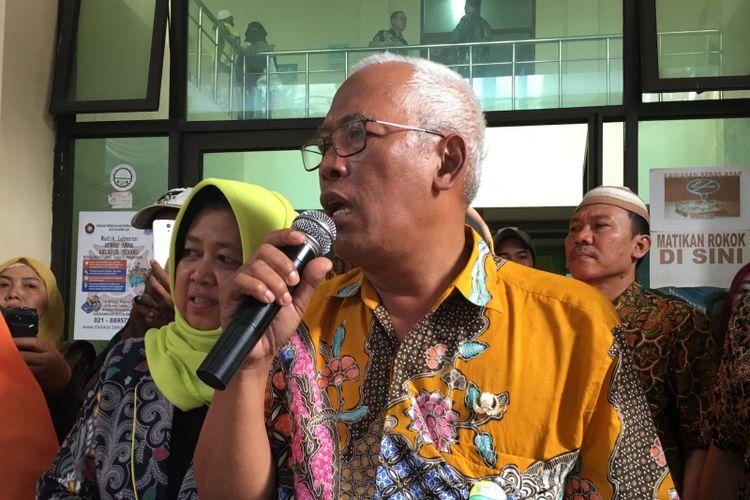 Kepala Dinas Pendidikan Kota Bekasi, Ali Fauzi saat ditemui di Dinas Pendidikan Kota Bekasi, Kamis (6/7/2017).