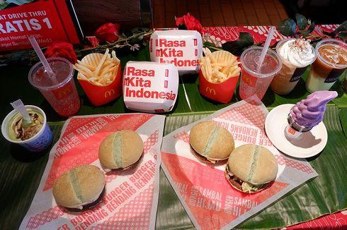 McDonald's Luncurkan Burger Rendang, Burger Sambel Ijo dan Cake Klepon