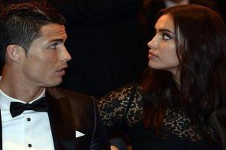 Cristiano Ronaldo dan Irina Shayk.