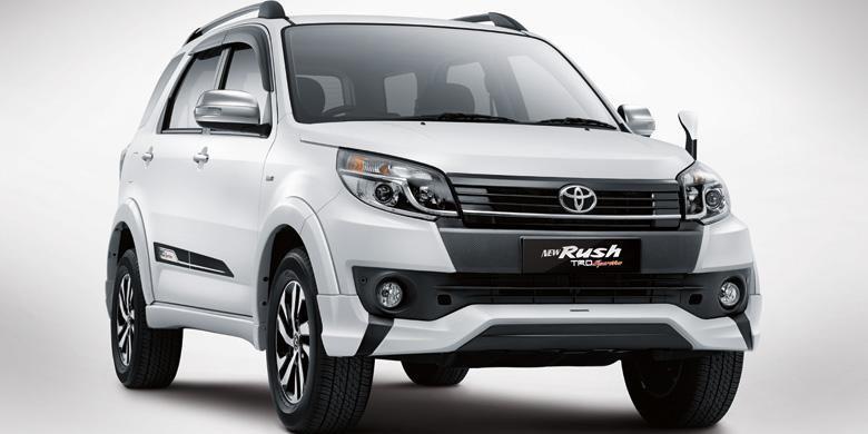 Ini tampang New Toyota Rush.
