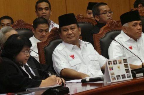 Pukul 14.00 WIB MK Ketuk Palu, Ini Kilas Balik Sengketa Pilpres 2014